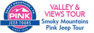 Pigeon Forge Valleys & Views Smoky Mountains Pink Jeep Tour