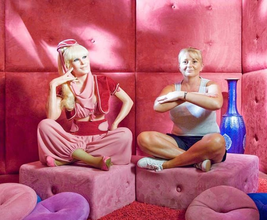 Posing with Stars at the Hollywood Wax Museum