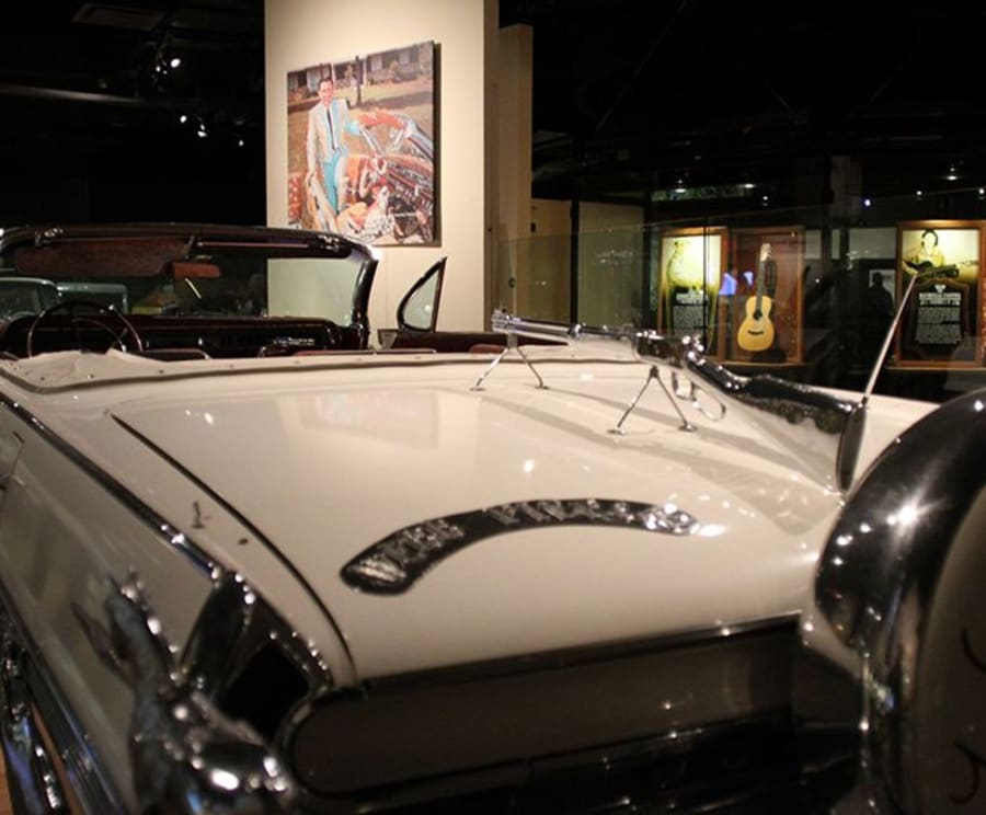 Car Inside the Country Music Hall of Fame and Museum