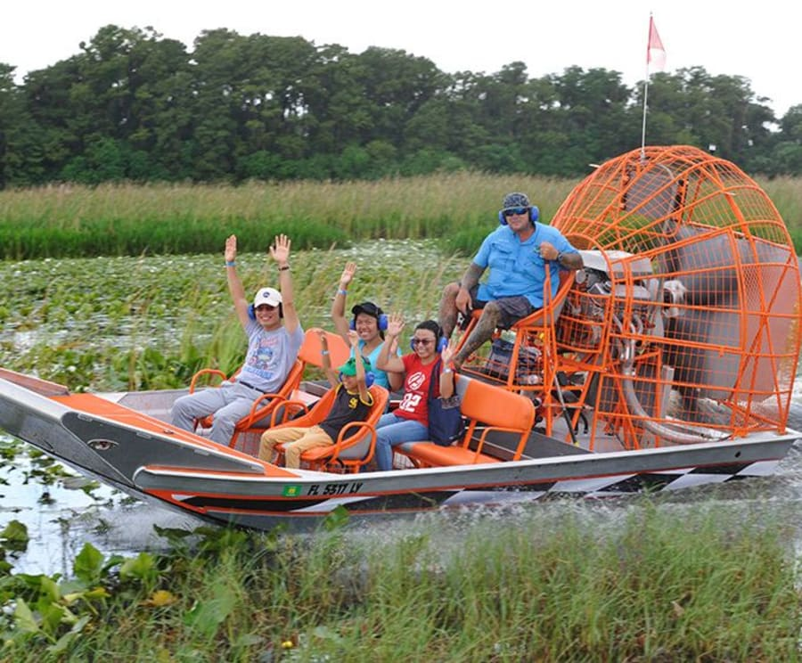Boggy Creek Daytime Airboat Ride