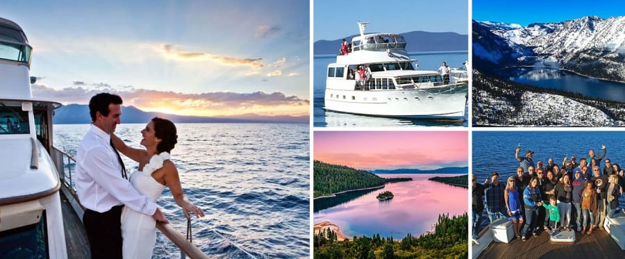 Lake Tahoe Sightseeing Cruises Aboard the Bleu Wave