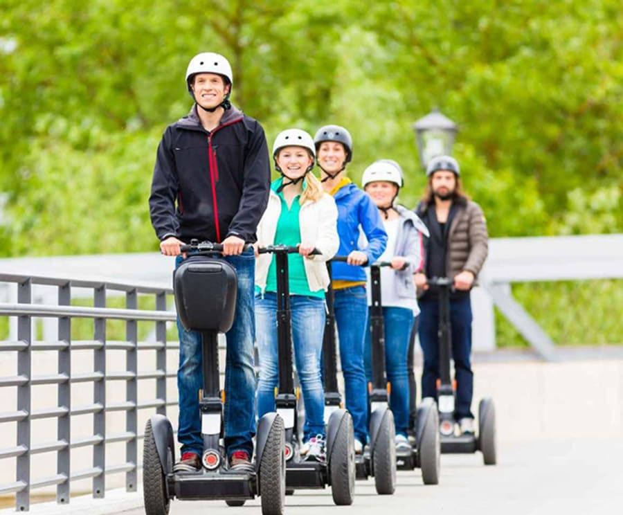 Fun on the Chattanooga North Shore & Coolidge Park 90 Min Segway Tour