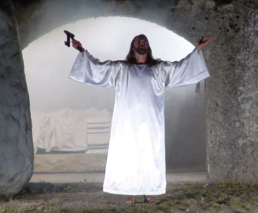 Ressurection at the Great Passion Play