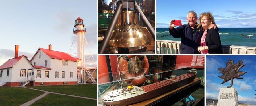 Great Lakes Shipwreck Museum & Whitefish Point Light Station Collage