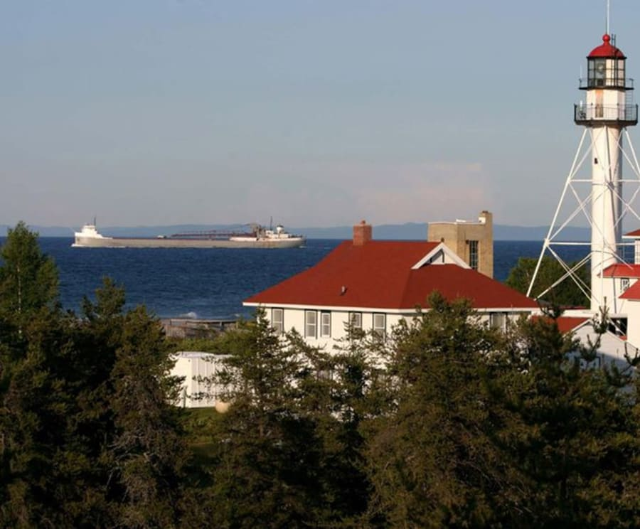 See the Great Lakes Shipwreck Museum & Whitefish Point Light Station