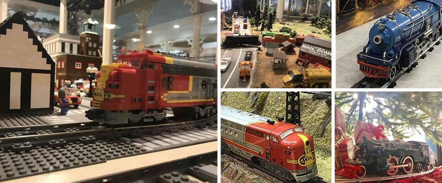 National Toy Train Museum Collage