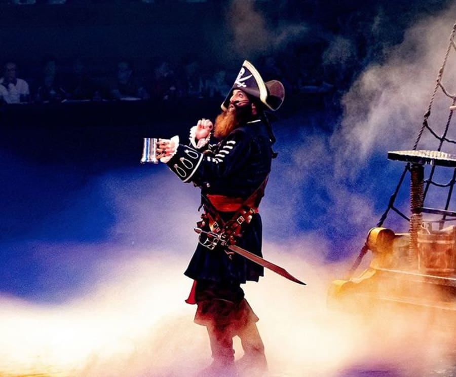 The Captain at Pirates Voyage Dinner & Show