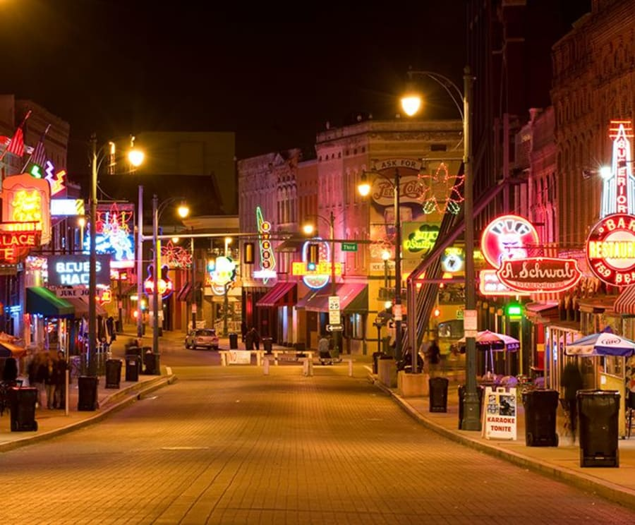 Beale Street on the Memphis Ghost Walking Tour