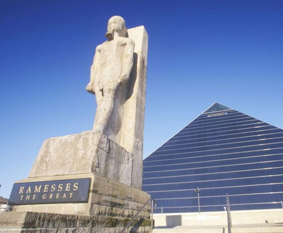 Ramesses on the Memphis Guided Bus Tours