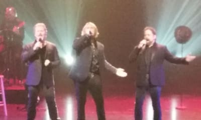 Men Singing at the Texas Tenors