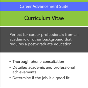 Vertical Media Solutions VMS Career Advancement Suite Curriculum Vitae