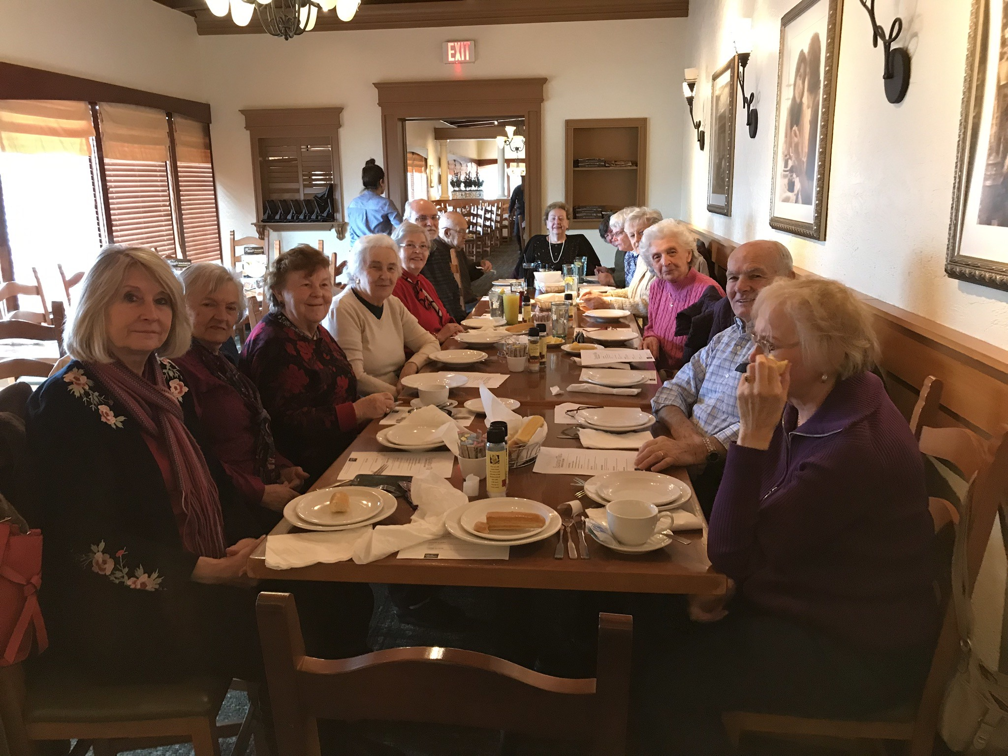 Seniors' Holiday Lunch