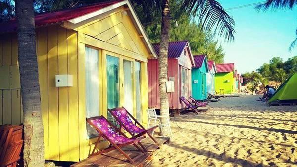 Thiên đường sống ảo tại Coco Beach Camp