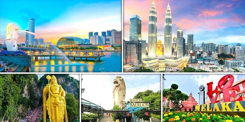 MALAYSIA - SINGAPORE 5N4Đ