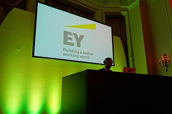Landmark Marylebone Corporate Award Show Party Hire