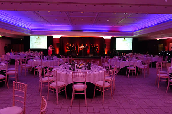 Intercontinental Park Lane Corporate Award Show Party Hire