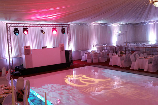 Selby Centre Wedding Lighting Hire