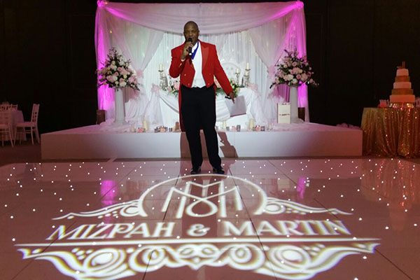 Hilton Bankside Wedding Lighting Hire