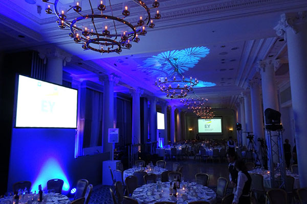 Hilton Waldorf Strand Aldwych Corporate Award Show Party Hire
