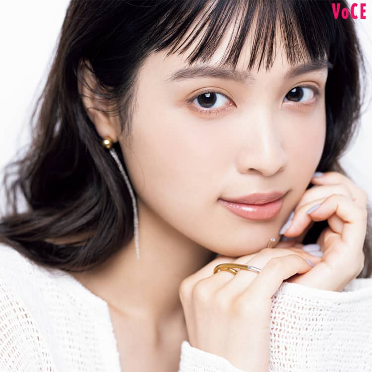 VOCE2021年4月号_松本愛