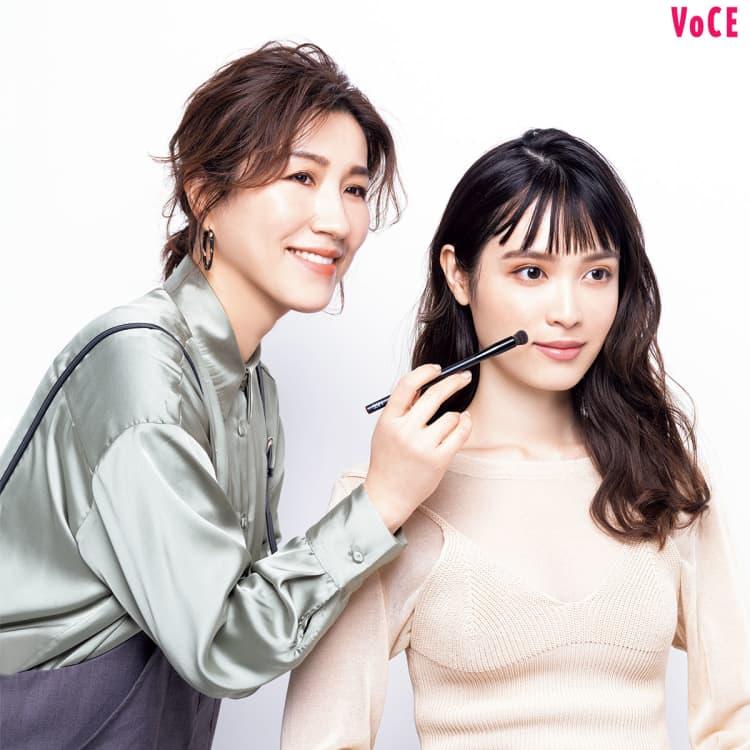ヘア&メイクアップアーティスト_長井かおり,VOCE2021年4月号_松本愛