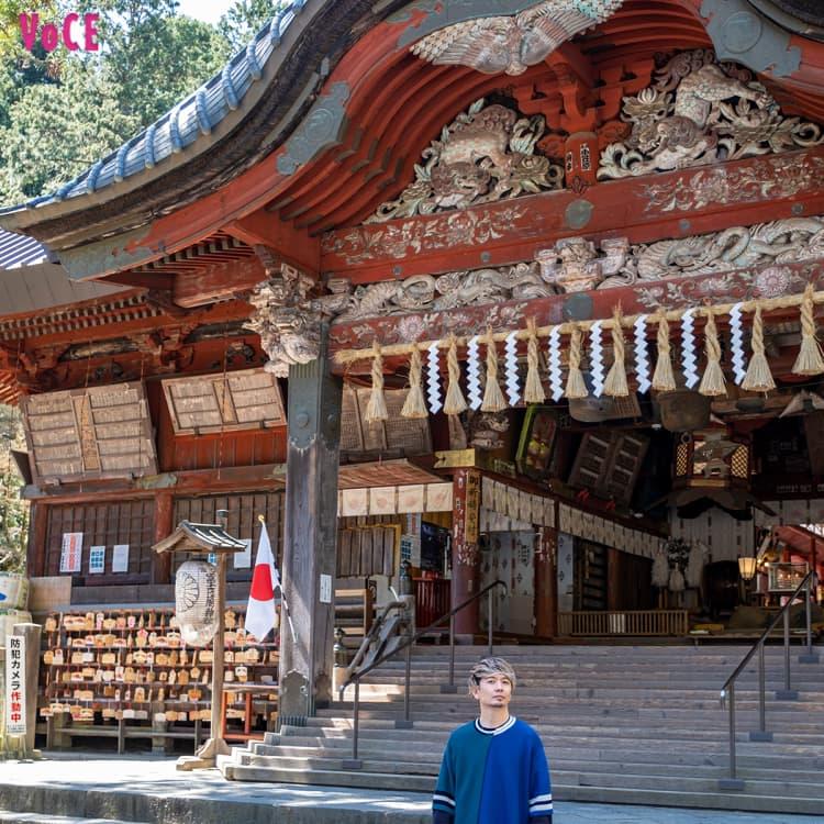 【SHOCK EYEの神社習慣】巨木からパワーをもらえる富士山麓の神社