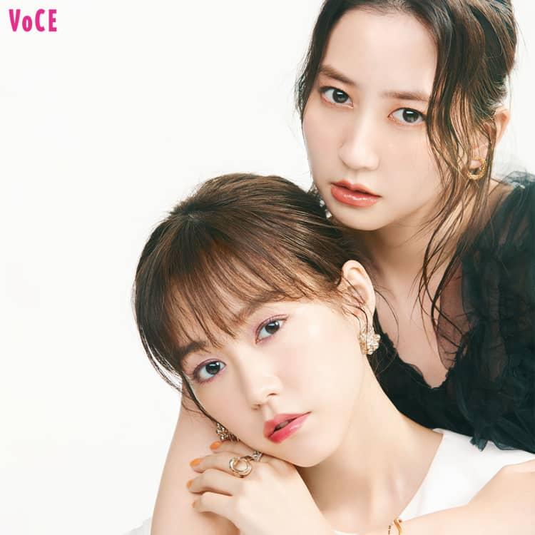 VOCE2021年8月号 桐谷美玲、河北麻友子