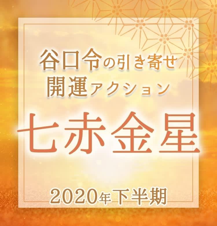 年 金星 2020 七 赤