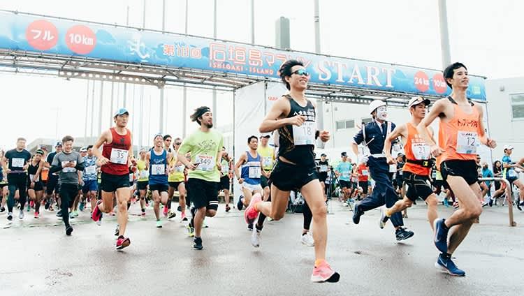 【雪肌精】が応援する石垣島マラソン