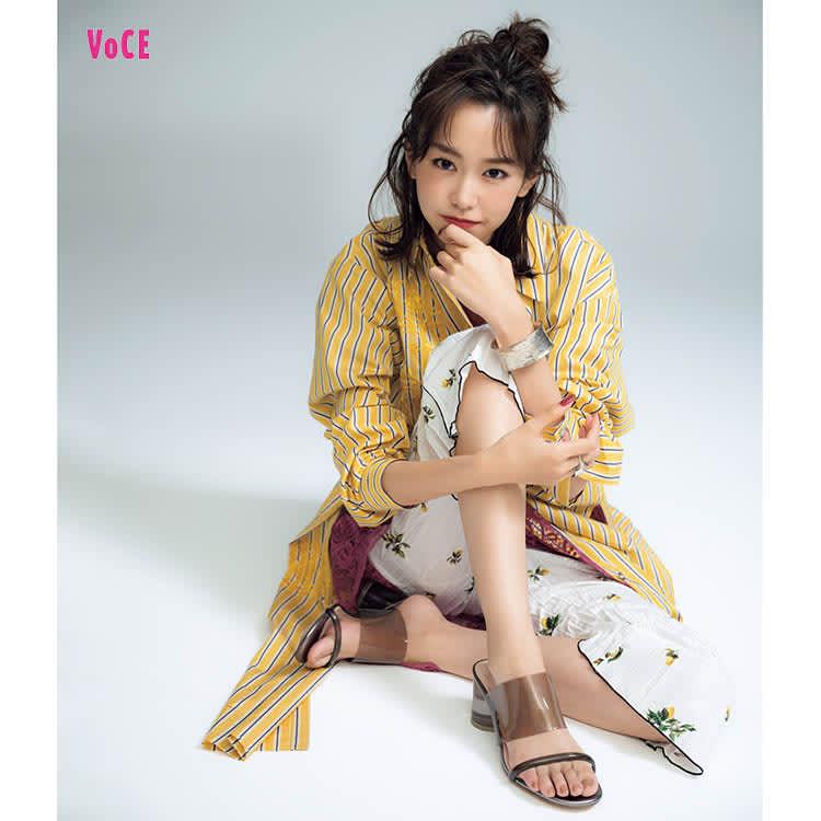 VOCE2018年2月号 桐谷美玲