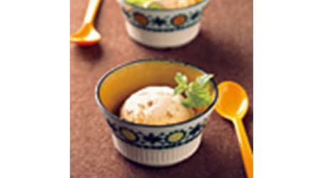バナナヨーグルトアイスクリーム