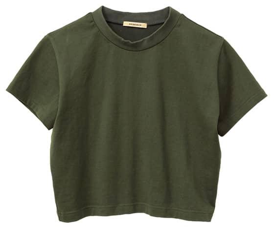クロップト Tシャツ
