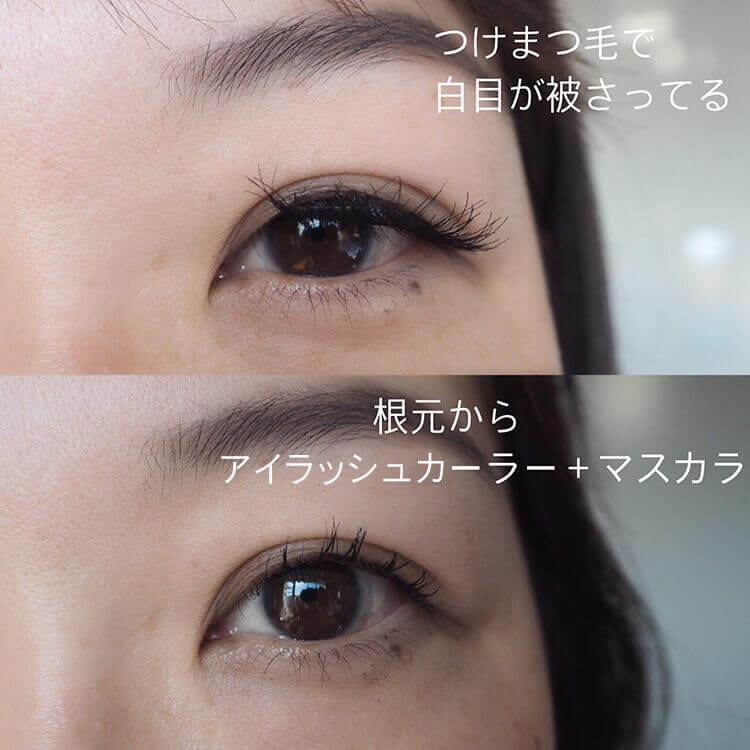 大きく する 黒目