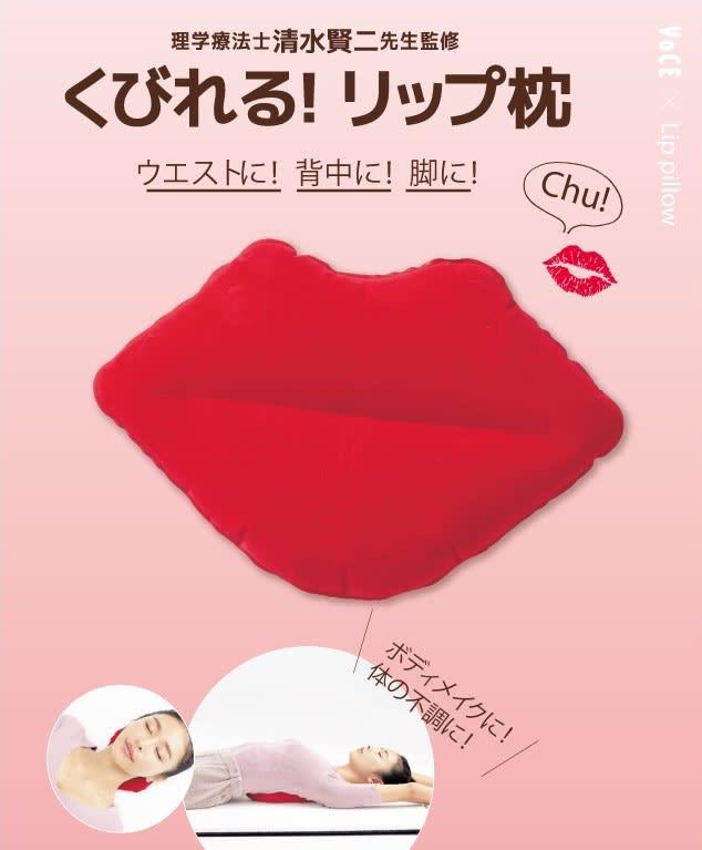 理学療法士・清水賢二先生監修 くびれる! リップ枕