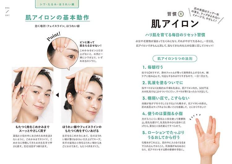 一週間であなたの肌は変わります 大人の美肌学習帳/肌アイロン