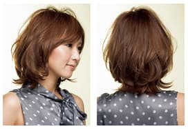 MARIS Hair Salon OMOTESANDOのミディアムヘアスタイル
