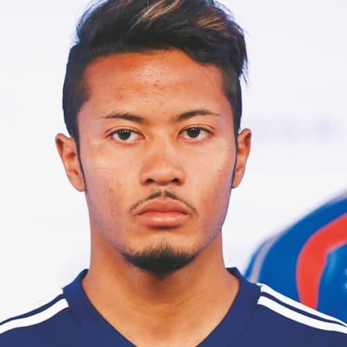 鈴木武蔵,サッカー日本代表,