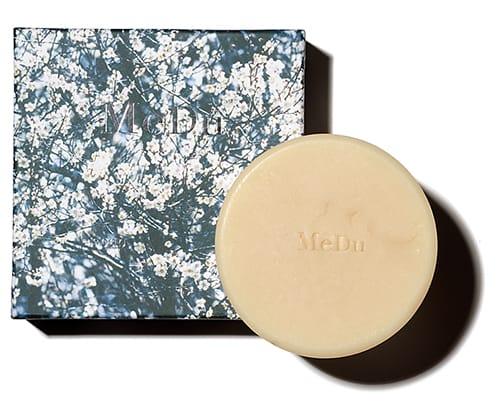 MeDu 保湿洗顔石けん 70g ¥2200/石見銀山生活文化研究所