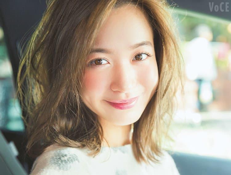 voce12月号,恋が叶う冬のLOVEヘア&メイク,野崎萌香