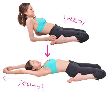 胃腸の調子を整えるストレッチ,気内臓,チネイザン,ストレッチ,