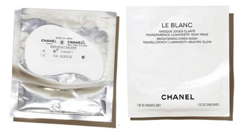 Chanel Le Blanc Cheek Mask