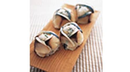 しめサバの手まり寿司