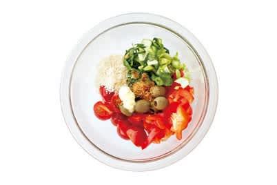 トマトエッグの美白スープ
