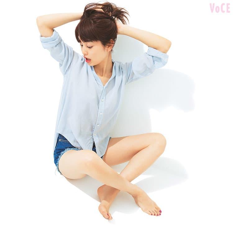 VOCE7月号,垣内彩未,夏コスメ,ひとめぼれコスメ,
