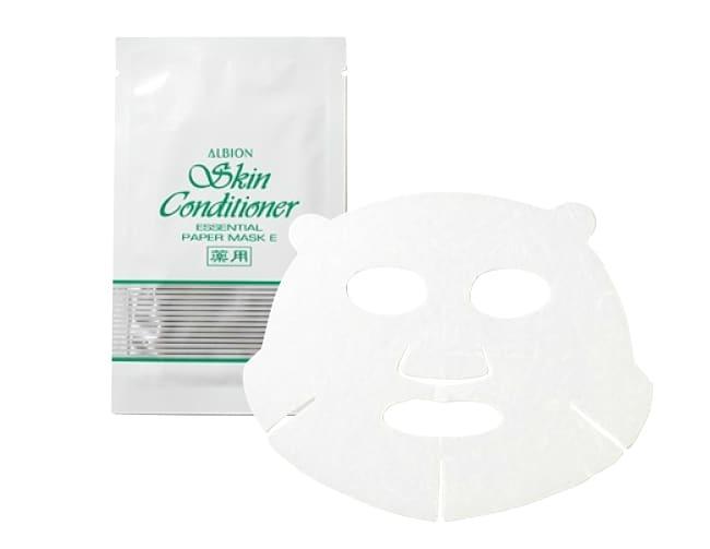 アルビオン 薬用スキンコンディショナー エッセンシャル ペーパーマスク E
