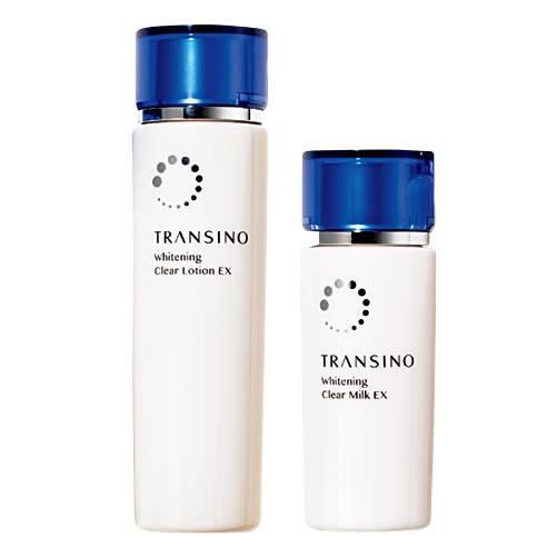 トランシーノ薬用ホワイトニングクリアローションEX、トランシーノ薬用ホワイトニングクリアミルクEX