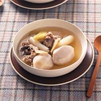 さといもと長ねぎのしょうが風味スープ(221kcal)