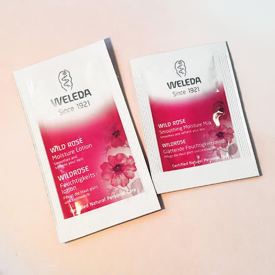 ヴェレダ ワイルドローズ モイスチャーローション&ミルク