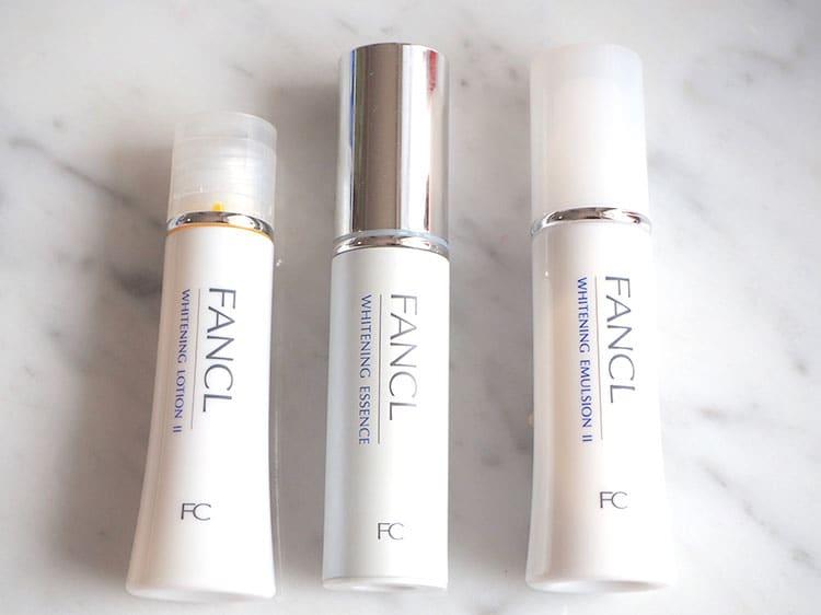 ホワイトニング 化粧液,ホワイトニング エッセンス,ホワイトニング 乳液,ファンケル