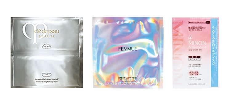 マスクエクレルシサン/ファミュ ドリームグロウマスク(REVITALIZE・RADIANCE)/ミノン アミノモイストうるうる美白ミルクマスク